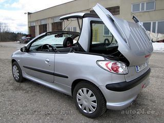 peugeot 206 cc cabrio 1 6 80kw. Black Bedroom Furniture Sets. Home Design Ideas