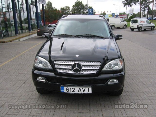 mercedes benz ml 270 final edition 2 7 cdi 120kw. Black Bedroom Furniture Sets. Home Design Ideas