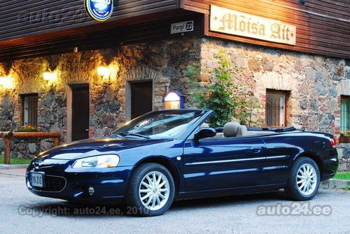 chrysler sebring lxi cabrio 2 7 v6 149kw. Black Bedroom Furniture Sets. Home Design Ideas