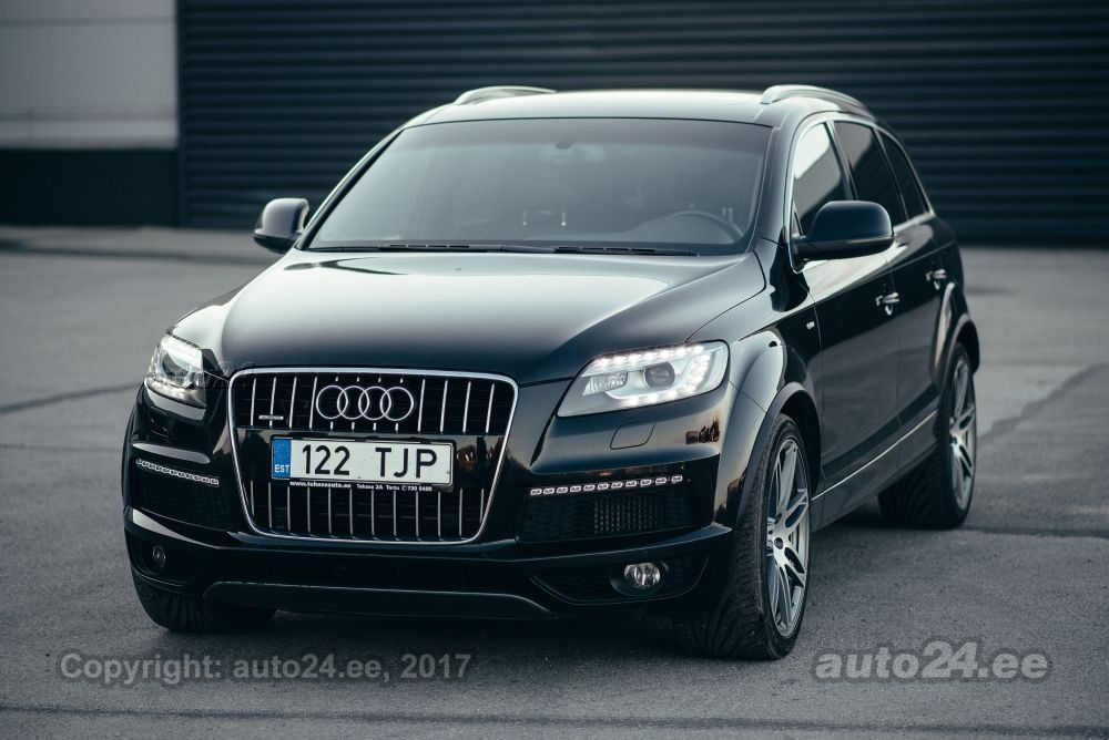 audi q7 exclusive s line 4 2 v8 250kw. Black Bedroom Furniture Sets. Home Design Ideas