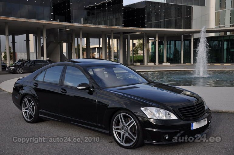 Mercedes benz s 420 cdi amg s 65 facelift black edition for Mercedes benz s 420