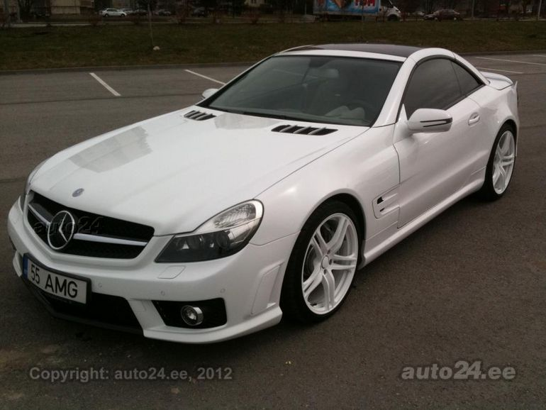 Mercedes benz sl 55 amg 5 5 v8 kompressor 380kw for Mercedes benz v8 kompressor