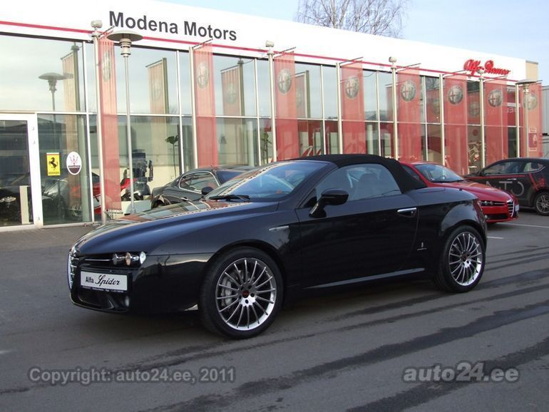alfa romeo brera spider 3 2 v6 191kw. Black Bedroom Furniture Sets. Home Design Ideas
