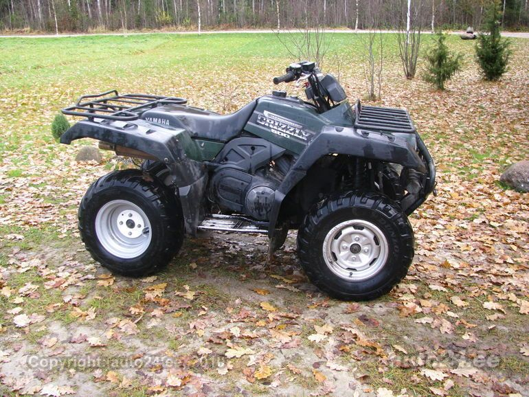 Yamaha grizzly 600 4x4 ultramatic for Yamaha grizzly 600