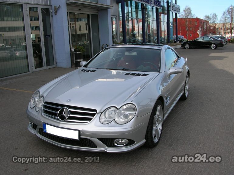 Mercedes benz sl 55 amg facelift 2007 5 5 v8 kompressor for Mercedes benz v8 kompressor