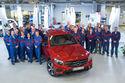 Soomes algas Mercedes GLC tootmine