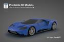 Ford pakub võimalust mudelautode printimiseks