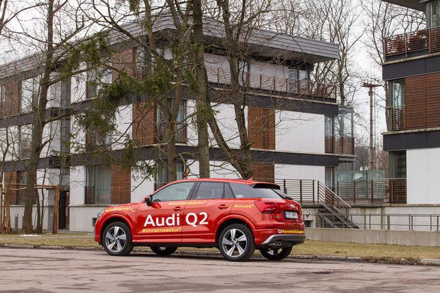 Motorsi proovisõit - Audi Q2