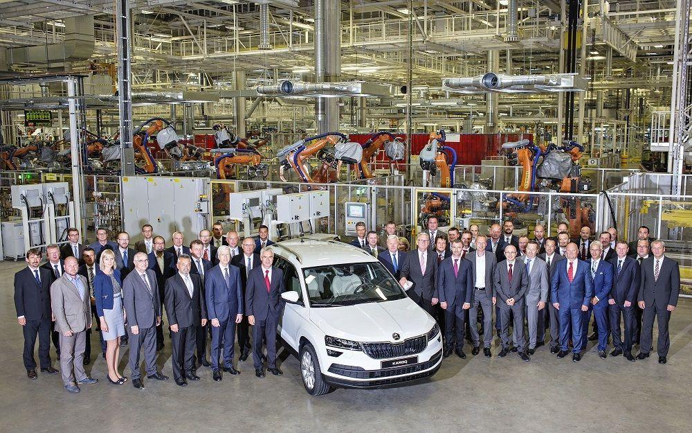 Škoda alustas Karoqi seeriatootmist