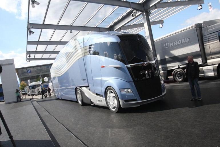 IAA 2012: Man Concept S näitab veokidisaini tulevikku