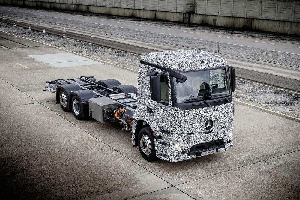 Mercedese elektriveok läheb juba sel aastal väikeseeriasse