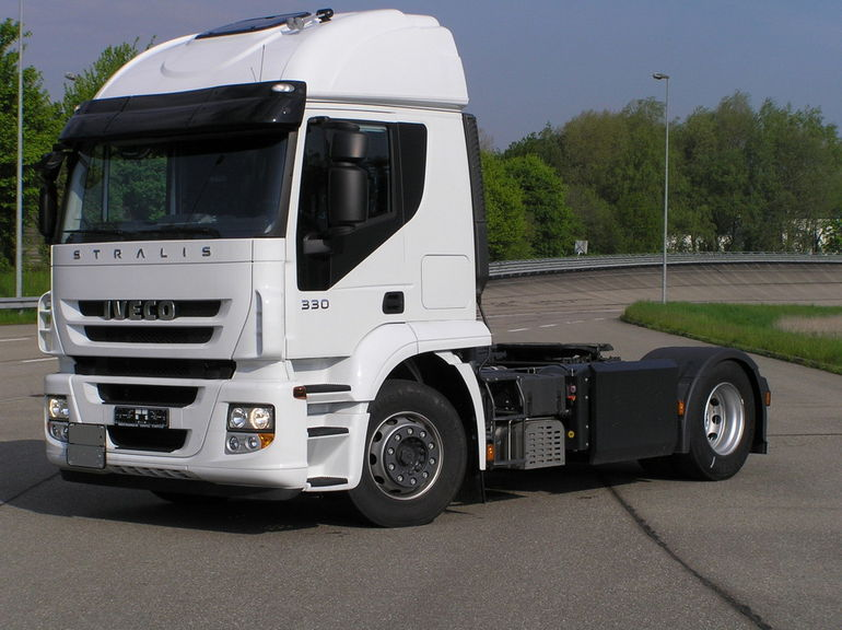 Iveco esitleb maagaasil töötavat sadulveokit