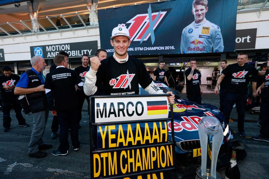 Marco Wittmann krooniti teist korda DTM sarja meistriks