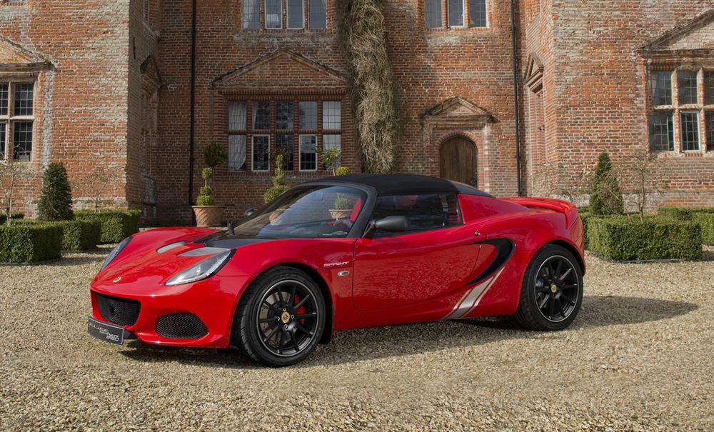 Lotus Elise Sprint kaalub vaid 800 kilo