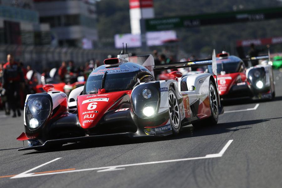Sportautode MM-etapi Jaapanis võitis Toyota meeskond