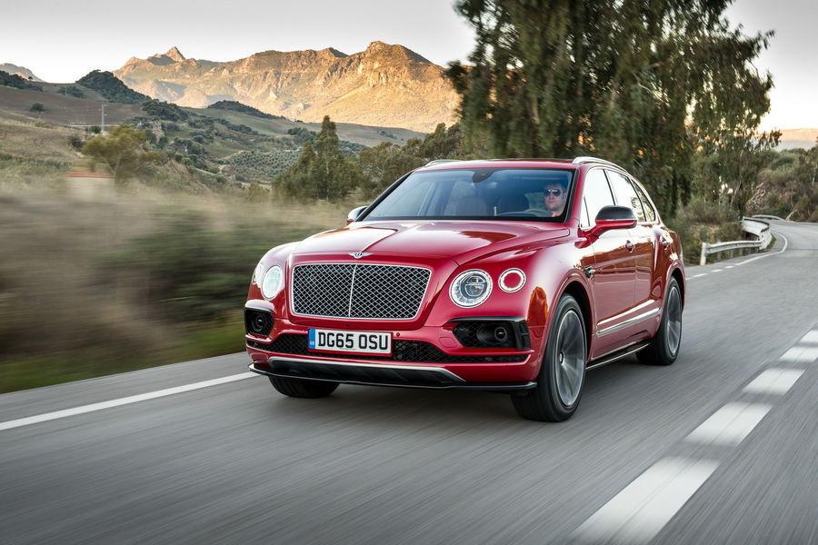 Bentley ei suuda toota piisavalt maastureid Bentayga