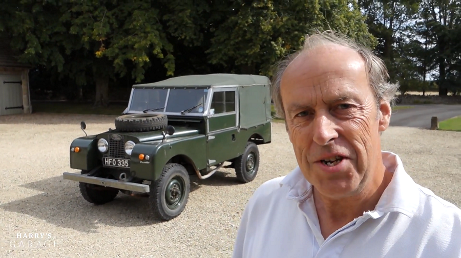 VIDEO: Harry's Garage - Land Rover Series I
