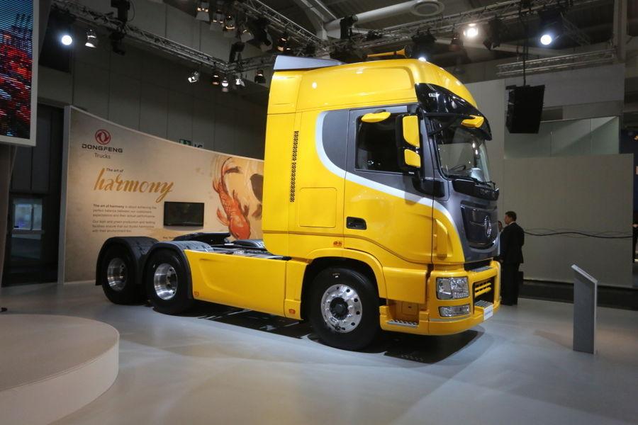IAA 2014: Dongfeng üritab saada jalga Euroopa veoautode turu ukse vahele
