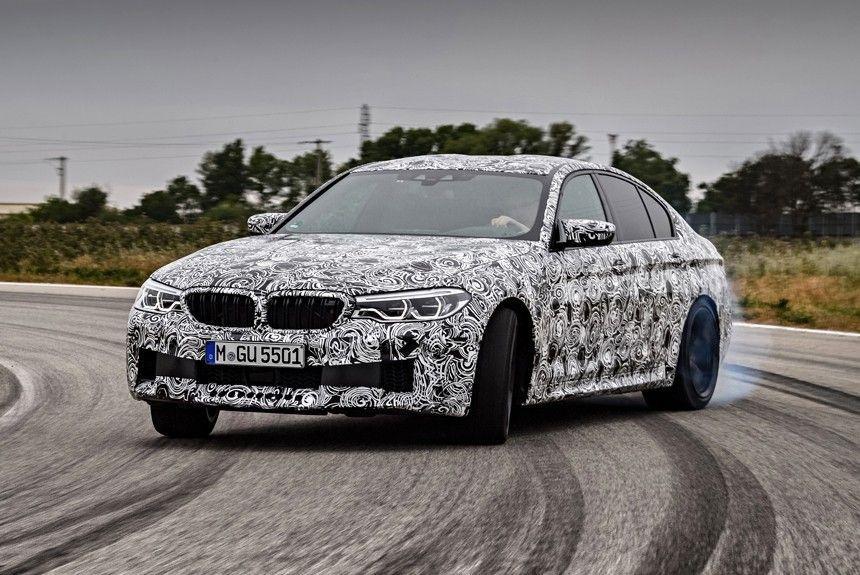 Uus BMW M5 näeb ilmavalgust 21. augustil