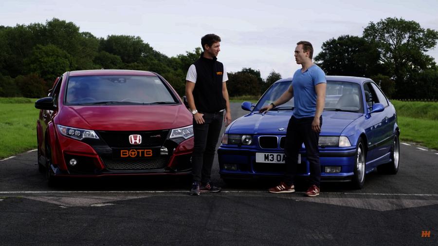 VIDEO: Kas 20 aastat vana BMW saab vastu moodsale Type R-le?