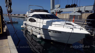 Azimut 52 fly HP 2 x 660 CAT 442kW