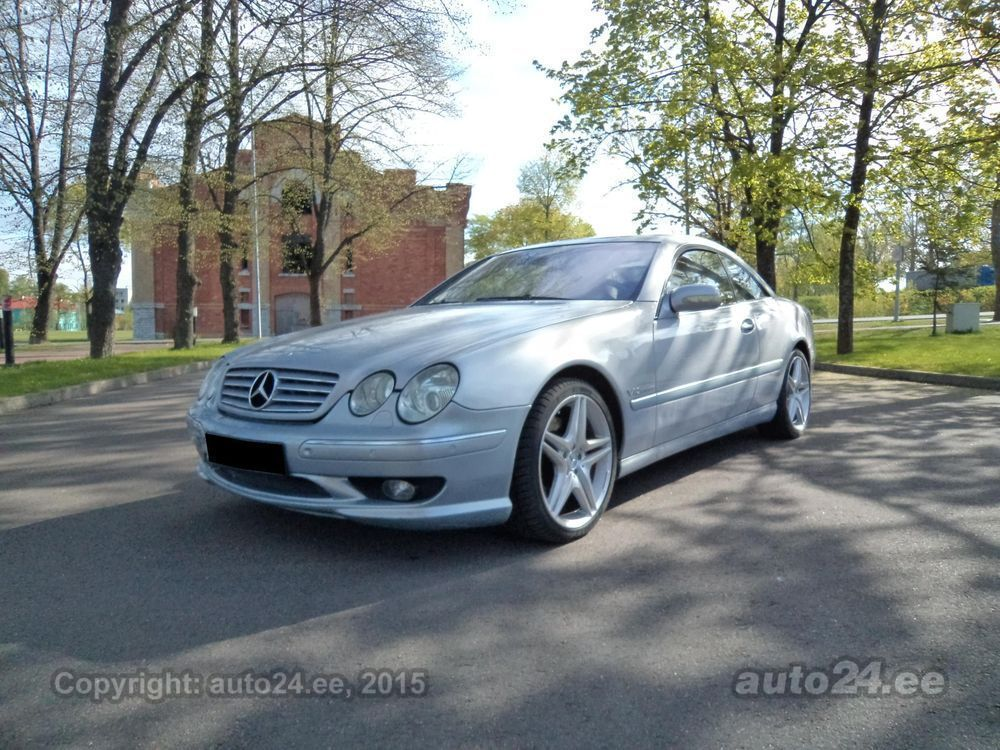 mercedes benz cl 600 amg 6 0 v12 270kw