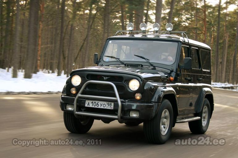 uaz hunter uaz 315195 eritellimus 2 7 zmz 94kw. Black Bedroom Furniture Sets. Home Design Ideas