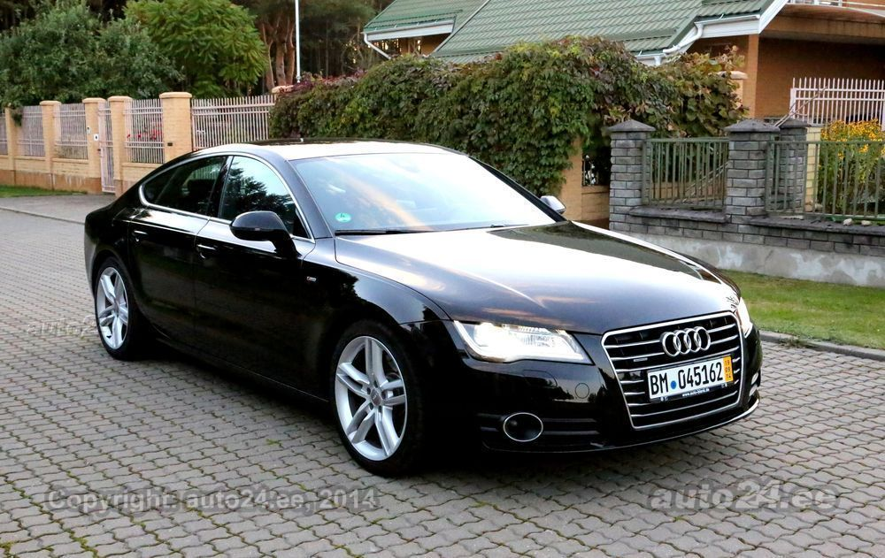audi a7 s line abt chip tuning 3 0 tdi 220kw. Black Bedroom Furniture Sets. Home Design Ideas