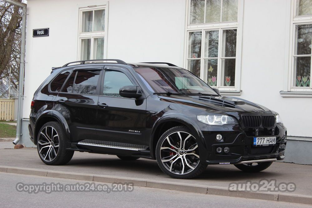 Bmw X5 E70 Exclusive Hamann Flash Edition 3 0 R6 Tdi 173kw
