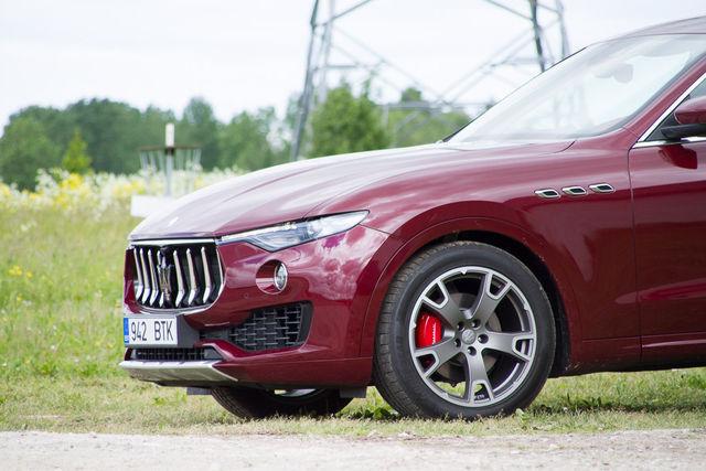 Motorsi proovisõit - Maserati Levante