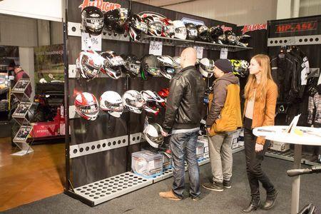 Varustuse ja motokaupade pakkujad. Foto: Tarmo Riisenberg