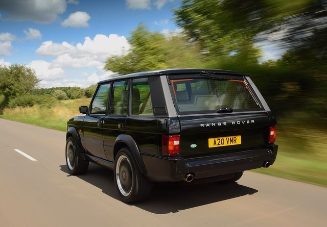 Range Rover Chieftain. Foto: Jensen International Automotive