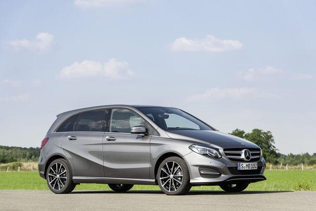 Mercedes-Benz B-klass. Foto: Daimler