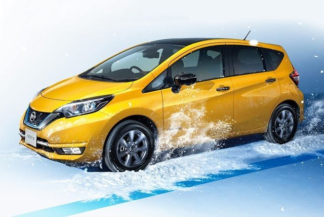 Nissan Note e-Power. Foto: Nissan