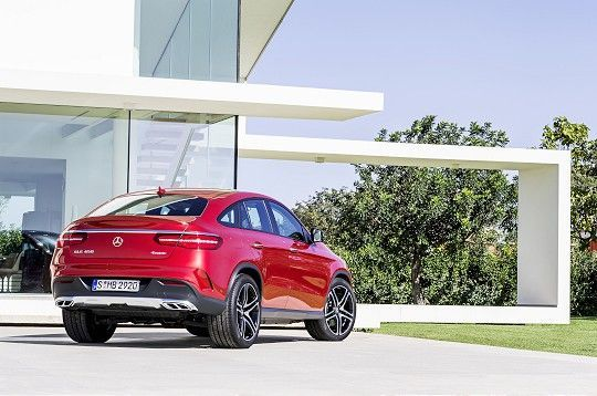 Mercedes-Benz GLE coupé avalikustatud