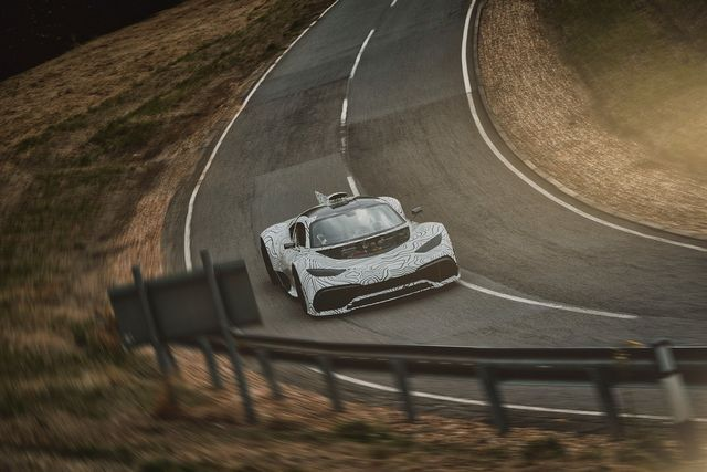 Mercedes-AMG Project One. Foto: Daimler
