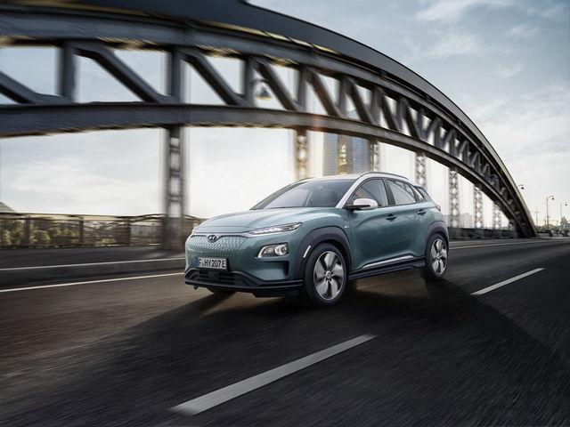 Hyundai Kona Elektro. Foto: Hyundai