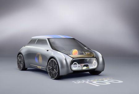 Mini Vision Next 100 Concept. Foto: Mini