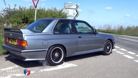 BMW E30 M3. Kaader: Youtube