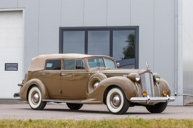 Packardi suursugune väliskujustus on täidetud sisuga: alates mootori omadustest  ja sõidumugavusest kuni näidikute ja nuppude viimistluseni. Fotod: Pille Russi