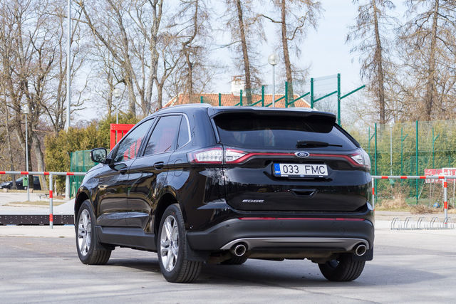 Motorsi proovisõit - Ford Edge