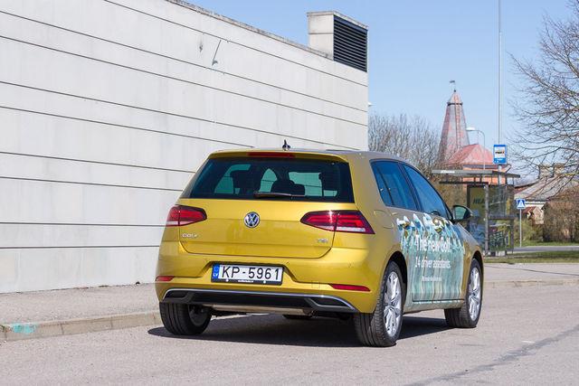 Motorsi proovisõit - uus VW Golf