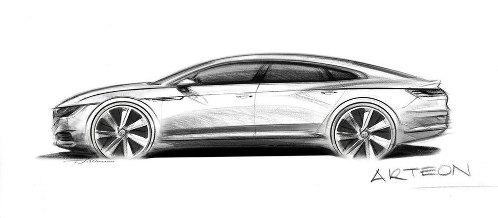 e32223d20ed GENF 2017: Volkswagen CC ja Phaeton muutuvad Arteoniks - Ford ...