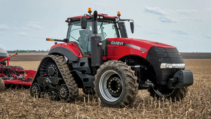 Aasta traktor on Case IH Magnum 380 CVX