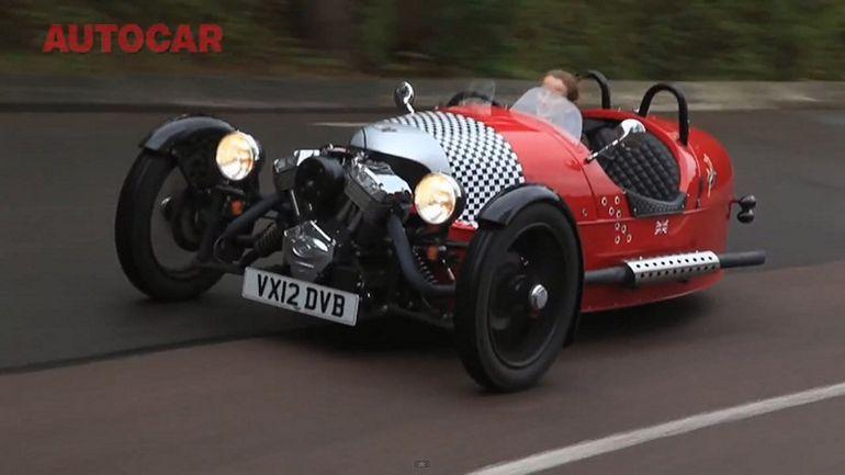 VIDEOTEST: Autocar proovis Morgan 3 Wheelerit