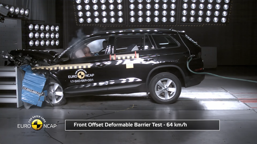 EuroNCAP hindas nelja uue auto turvalisust
