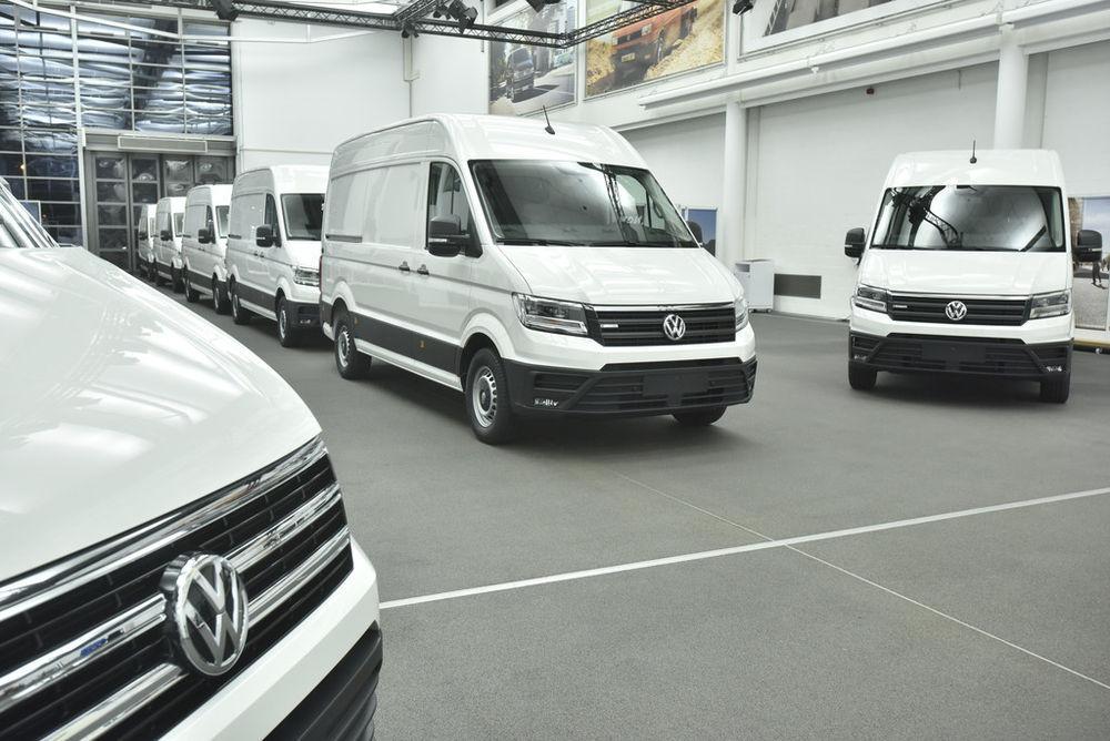 VW alustas e-Crafteri teste