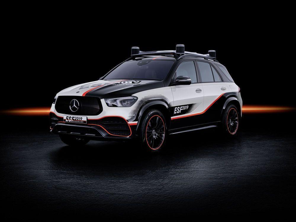 Tulevikuauto turvalisus Mercedese silme läbi