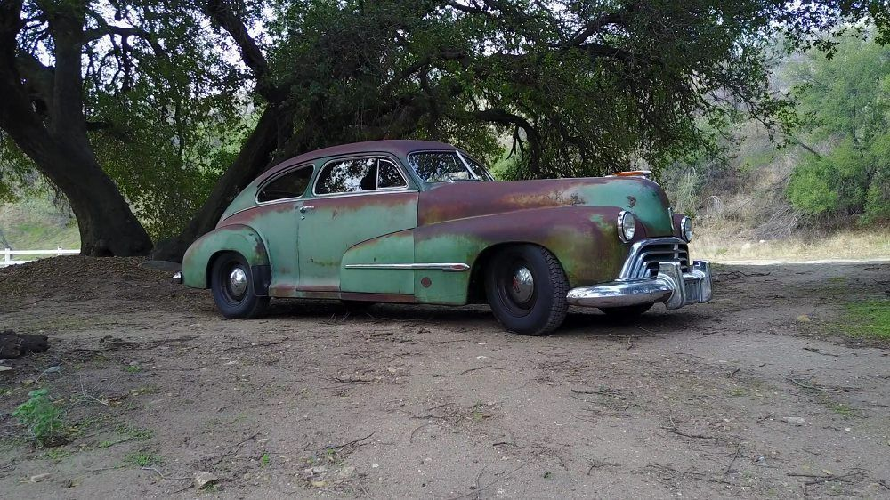 VIDEO: 1946 Oldsmobile Derelict by ICON