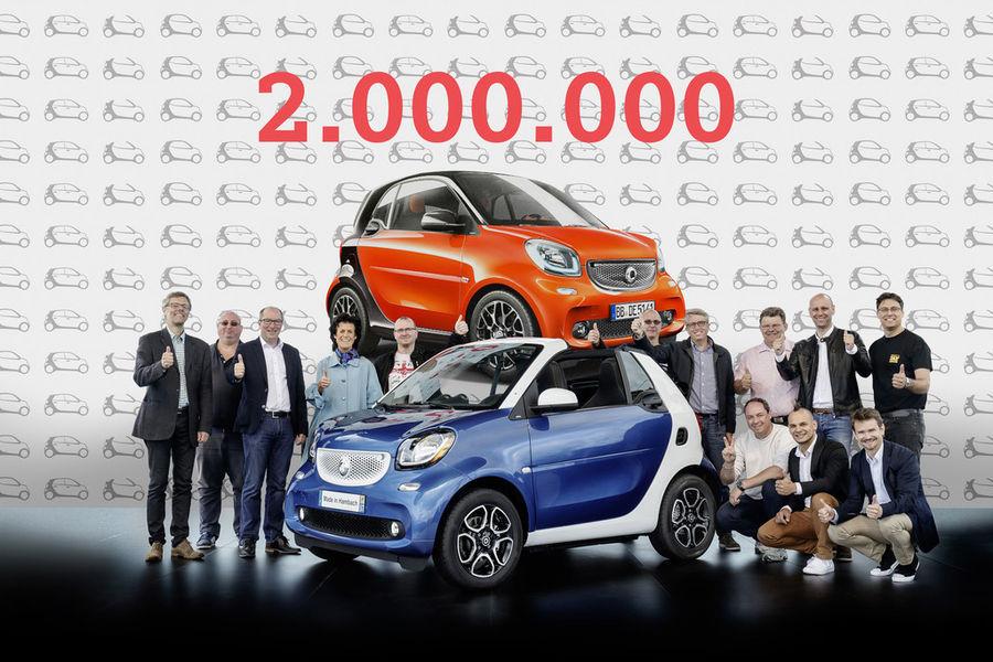 Maailmas on müüdud 2 miljonit Smarti